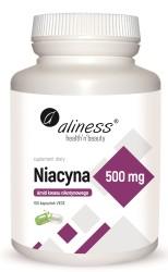 Niacyna, Amid kwasu nikotynowego 500 mg x 100 kaps VEGE