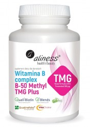 Witamina B Complex B-50 Methyl TMG PLUS