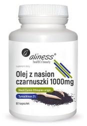 Olej z nasion czarnuszki 2% 1000 mg x 60 caps