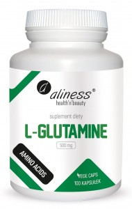 L-Glutamine 500 mg x 100 Vege caps.