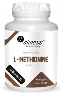 L-Methionine 500 mg x 100 Vege caps.