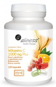Witamina C 1000 mg Plus x 100 kaps VEGE