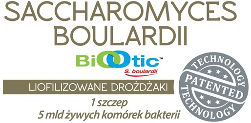 ALINESS Probiobalance Saccharomyces Boualardii 5 mld/250mg probiotyki 30kap.