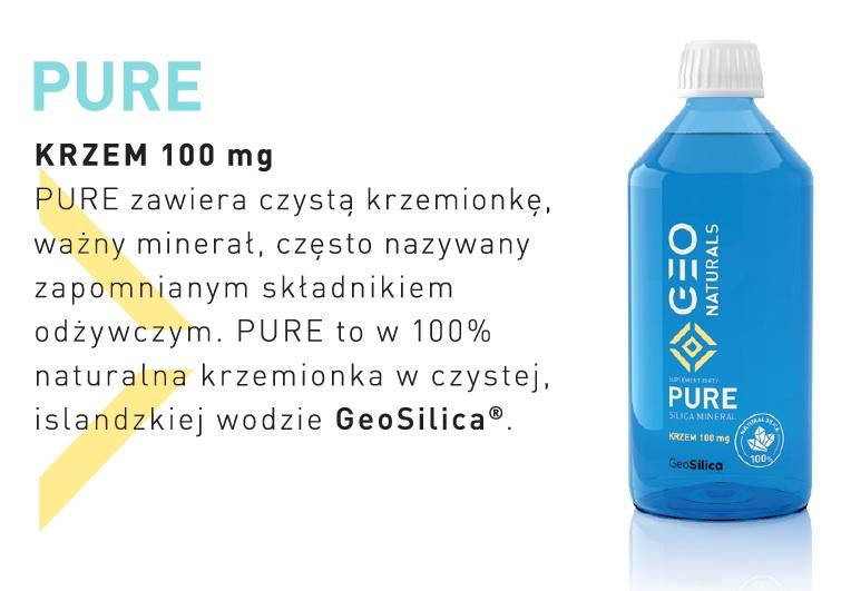 ALINESS GEONATURALS PURE SILICA - Krzem 100 mg 500 ml